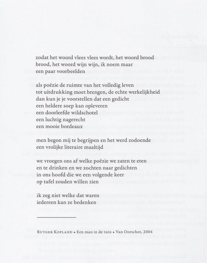 Gedichten Over Smaak En Eten Piratebuur